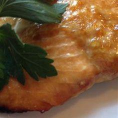 Healthier Grilled Salmon I Allrecipes.com