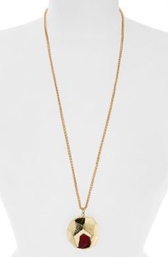 Panacea Panacea Semiprecious Stone Pendant Necklace available at #Nordstrom