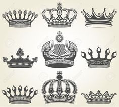 crown tattoo designs delicate - Google Search