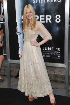 Love that dress! -Elle Fanning