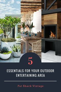 We have the top 5 essentials to ensure your outdoor area is a winner all year round. Outdoor Ceiling Lights, Outdoor Walls, Outdoor Lighting, Outdoor Chairs, Outdoor Decor, Lights Over Dining Table, Industrial Interior Design, Hanging Pots, Outdoor Entertaining