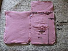 Nid d 39 ange patron couture vetements enfants pinterest - Patron nid d ange bebe gratuit ...