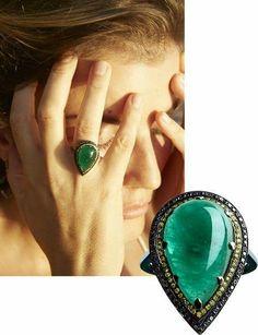 #vogueparis #emeraldsareforever