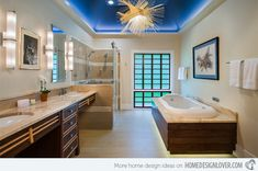 Luxury Japanese-Inspired ADA (Accessible) Bath | Get Nature's Feel in 15 Asian Themed Bathrooms