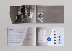 Brochure du projet immobilier Résidence Wercollier par feltès Layout Inspiration, Graphic Design Inspiration, Graphic Design Brochure, Interface Design, Page Layout, Delft, Brochures, Booklet, Print Design