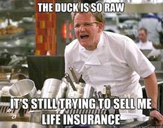 A hilarious collection of the best Chef Ramsay meme.