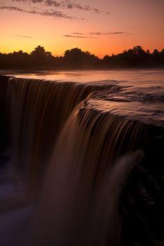Jägala waterfall | Estonia (by Andrei Reinol) #COLOURFULESTONIA