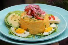 Molo or Ecuadorian mashed potatoes
