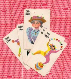 Vintage Card Games - Old Maid
