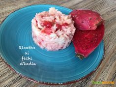 Risotto ai fichi d'india  #ricette #food #recipes