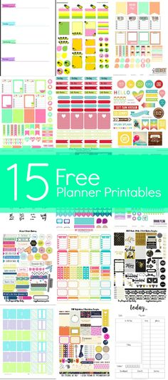 Free Planner Printables Get your planner ready for the new year with these awesome free planner printables!Get your planner ready for the new year with these awesome free planner printables! To Do Planner, Free Planner, Planner Pages, Planner Ideas, Create 365 Happy Planner, Planner Diy, School Planner, Best Planners, Personal Planners