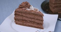 Torta sa orasima i plazma keksom — Domaći Recepti Torte Recepti, Kolaci I Torte, Bread Recipes, Cooking Recipes, Torte Cake, Chocolate Bomb, No Bake Cake, Sweets, Baking