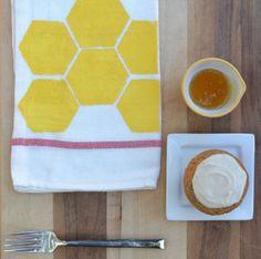 18 Colorful + Creative Tea Towels via Brit + Co.