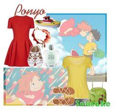 """|| Ponyo & Sousuke ~ Ponyo ||"" by miyu-san ❤ liked on Polyvore featuring Giorgio Armani, LTB by Little Big, 40WEFT, Aéropostale, Barse, Haiku, Alexander McQueen, anime, CasualCosplay and miyazaki"
