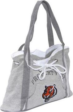 Littlearth NFL Hoodie Purse Grey/Cincinnati Bengals Cincinnati Bengals - via eBags.com!