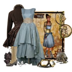 """""""Tiana - Steampunk - Disney's Princess and the Frog"""" by rubytyra on Polyvore"""