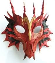 Image result for dragon headdress