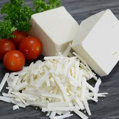 Ricotta Salata - A unique Italian ricotta with firm texture and salt-hinted flavor, ready to shave over salads, meats and veggies.