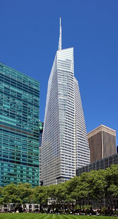Bank of America Tower - New York, N.Y. (365.8m/1200ft) (Cook + Fox Architects)
