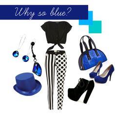 """Why So Blue?"" by lyndzifersherrr on Polyvore"