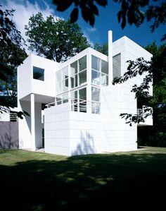 Richard Meier | Casa Giovannitti | Pitsburgh, Estados Unidos | 1979-1983