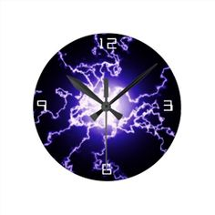 =>>Save on          Cool Magic Lightning ball Round Clock           Cool Magic Lightning ball Round Clock today price drop and special promotion. Get The best buyShopping          Cool Magic Lightning ball Round Clock Review on the This website by click the button below...Cleck Hot Deals >>> http://www.zazzle.com/cool_magic_lightning_ball_round_clock-256965959889248320?rf=238627982471231924&zbar=1&tc=terrest