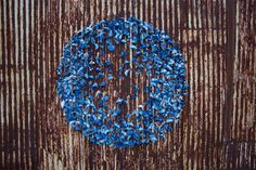 Magnetized Cyanotype Butterfly Installations by Tasha Lewis