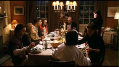 A dinning room full of family, what a concept The Effective Pictures We Offer You About dinner menu