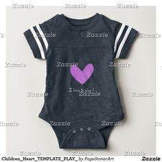 Children_Heart_TEMPLATE_PLAY_ Baby T-Shirt