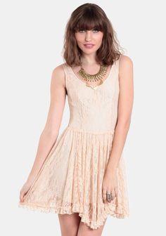 No Peeking Lace Dress from ThreadSense.