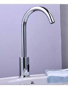 Luxuryclassic Bathroom Hot and Cold Taps Bathroom Sink Faucet Hands Free Automatic Electronic Hot and Cold Taps Sensor Tap Faucet CSZ -- Find out more about the great product at the image link.