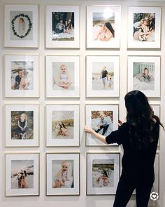 "Veronika• Life + Style Blogger on Instagram: ""It's finally here! Revealing our full gallery wall, all of the project sources + costs on the blog today (link in bio). I'm also sharing my…"""