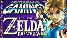 Zelda Breath of the Wild Did You Know Gaming? Twilight Princess Hd, Video Game Facts, Game Info, Wind Waker, Zelda Breath, Breath Of The Wild, Legend Of Zelda, Did You Know, Breathe