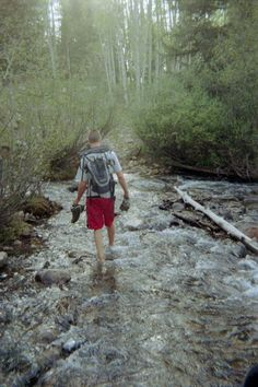 Crossing mountain streams...Nothing really compares...Picture taken near Dolores, Colorado...