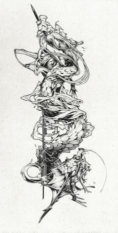 We ❤ Tan Zhi Hui https://www.artstation.com/artist/kudaman #DigitalArt #DigitalArtist #Artprint #Artwork #Vectoriel