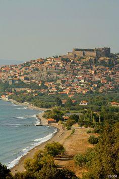 Mithimna (Molivos), Lesvos island, Greece