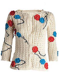 Chanel Fashion on the catwalk Crochet Coat, Crochet Cardigan, Crochet Clothes, Ravelry, Shrug Cardigan, Cardigan Sweaters, Chanel Jacket, Summer Patterns, Yarn Over