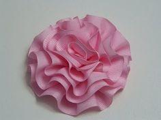 Tutorial Petalos flores kanzashi para el cabello paso a paso No.151 Manualidadeslahormiga - YouTube