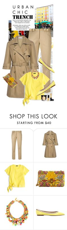 """""""Urban Chic..The Trench..Happy Sunday !!!"""" by shortyluv718 ❤ liked on Polyvore featuring RIETVELD by Rietveld, MICHAEL Michael Kors, RED Valentino, J.Crew, MANGO, Venessa Arizaga, Valentino, Chanel, men's fashion and menswear"""