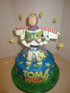 Buzz Light Year Themed Cake