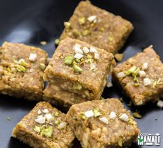Easy and delicious pista badam burfi - a fudge made with pistachios, almond and ghee! This Indian sweet is perfect for any festive occasion! Indian Dessert Recipes, Indian Sweets, Sweets Recipes, Gourmet Recipes, Cooking Recipes, Healthy Recipes, Indian Recipes, Arabic Sweets, Healthy Sweets