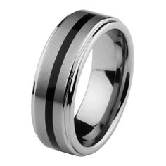 *** LASER ENGRAVING SERVICE *** 8mm Rubber Inlay Cobalt Free Tungsten Carbide COMFORT-FIT Wedding Band Ring for Men and Women (Size 5 to 15) [DETAIL INFORMATION - PLEASE CLICK AND CHECK THE ITEM DESCRIPTION] Reeve and Knight. $64.00. Tungsten Carbide is one of the hardest metals on earth, making it quite literally scratch proof. **Does not apply for coated Tungsten Bands**. ****PLEASE NOTE: ENGRAVED ITEMS CANNOT BE RETURNED OR EXCHANGED **please review our item descripti...