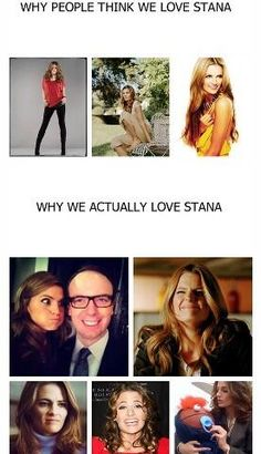 Love Stana Katic!