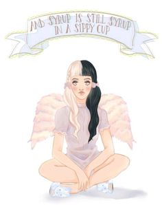 Sippy cup by Melanie Martinez Melanie Martinez Quotes, Melanie Martinez Drawings, Cry Baby, Fanart, Deviantart, Music Artists, My Idol, Crying, Aurora Sleeping Beauty