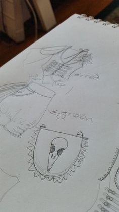 Rococo Robin designed by Samm