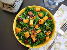 Sweet Potato & Kale Salad