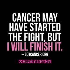 #BreastCancerAwareness  You CAN win this fight. You WILL