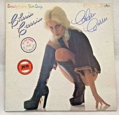 """Autographed/Signed Cherie Currie (The Runaways) """"Beauty's Only Skin Deep"""" Vinyl Spooky Empire, Cherie Currie, Fashion Forecasting, Joan Jett, Tennis Stars, Feminine Energy, Girl Bands, Old Navy, Single Women"""