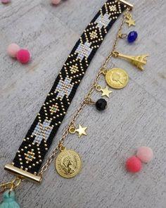 Articles similaires à Bracelet manchette Miyuki sur Etsy - Handmade jewelry Loom Bracelet Patterns, Bead Loom Bracelets, Beaded Jewelry Patterns, Bracelet Designs, Jewelry Bracelets, Handmade Bracelets, Handmade Jewelry, Etsy Handmade, Bead Loom Designs