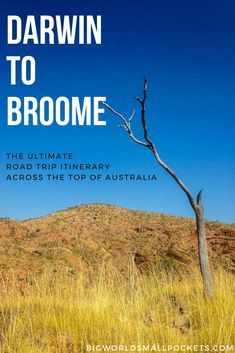 The Ultimate Darwin to Broome Road Trip Itinerary! {Big World Small Pockets} Visit Australia, Western Australia, Australia Travel, Darwin Australia, Road Trip Hacks, Road Trips, Camping Hacks, Australian Road Trip, Travel Advice